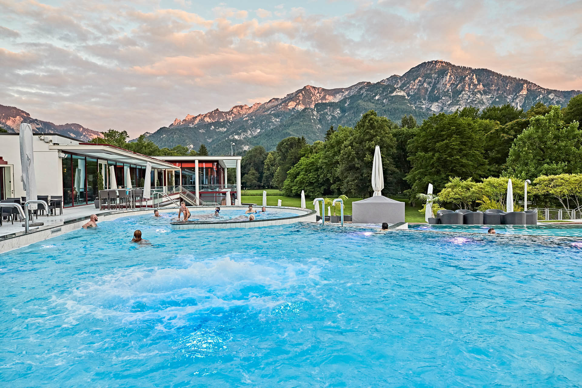 Pure thermal relaxation around Eugendorf