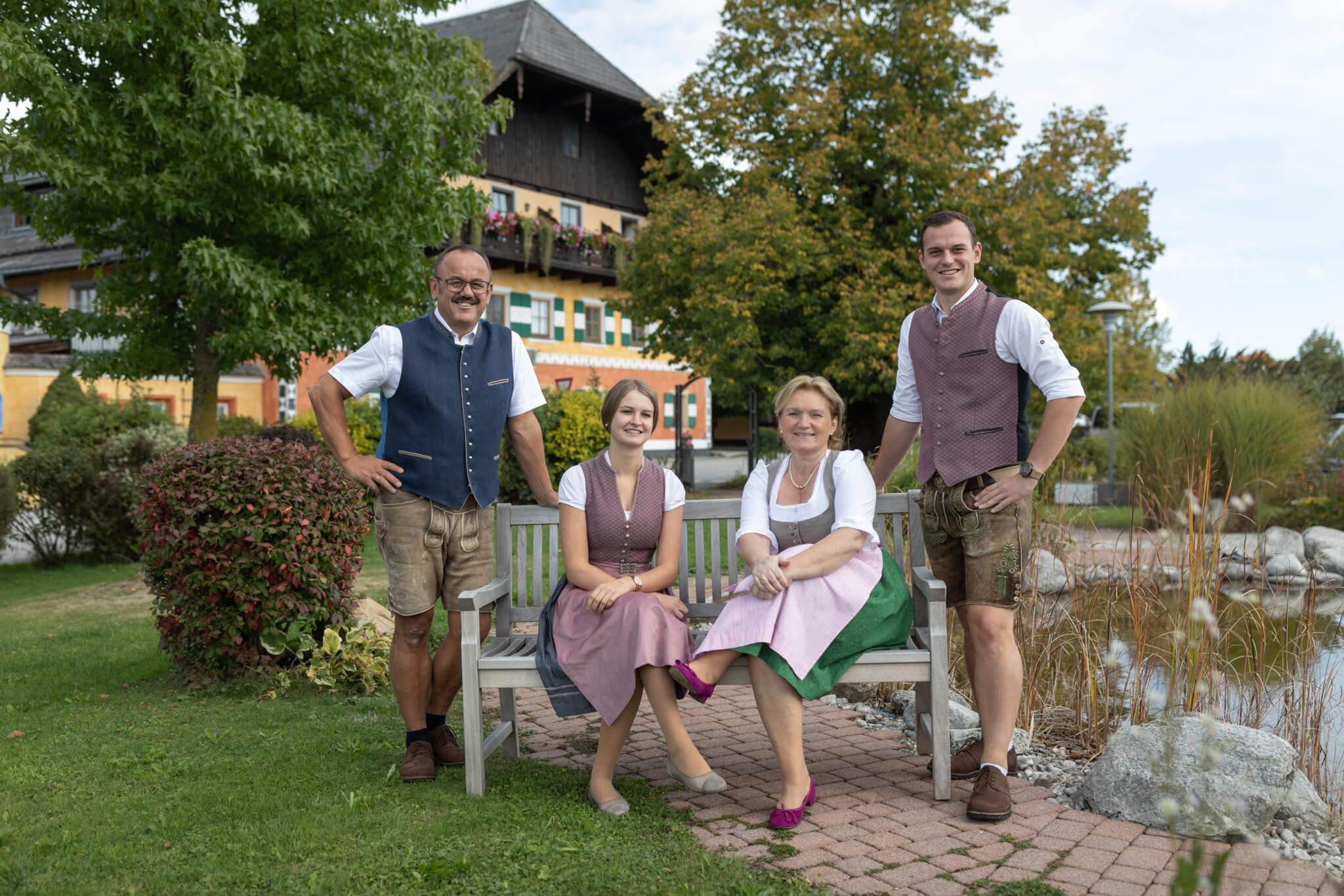 Wirtsfamilie Maislinger vom Gasthof Gastagwirt