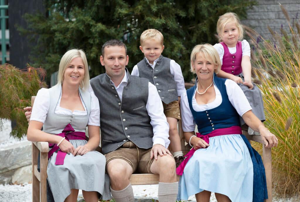 Wirtefamilie Gollackner von Landhotel Drei Eichen